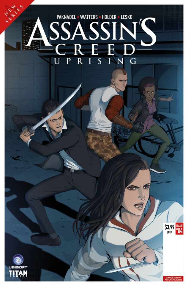 Assassin's Creed: Uprising #5 (Doubleleaf Cover)