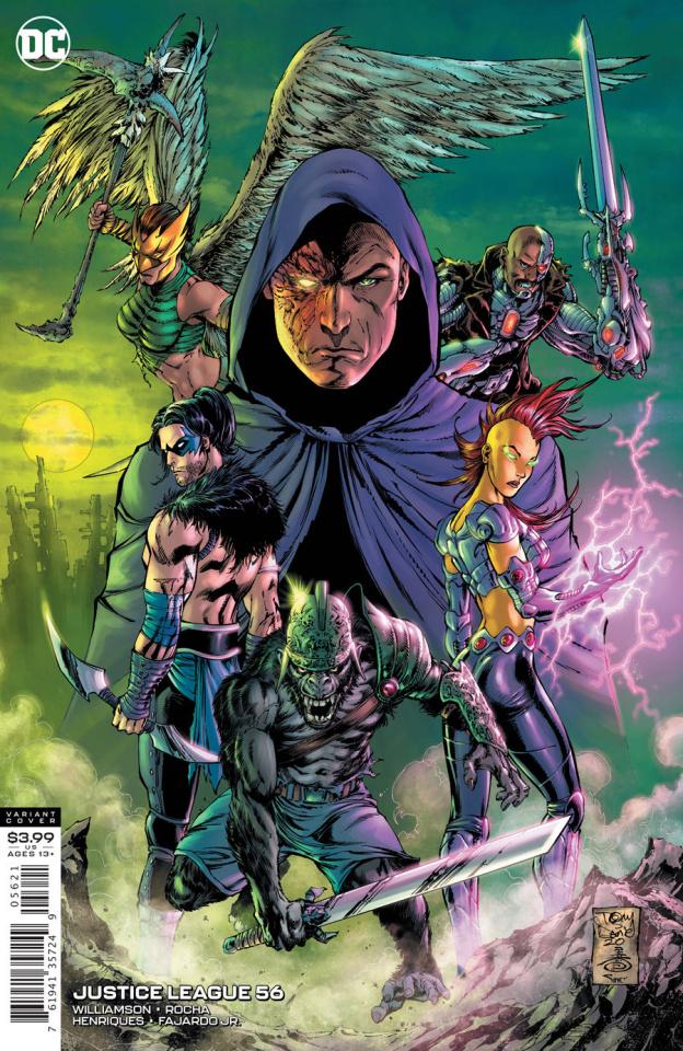 Justice League #56 (Tony S Daniel & Danny Miki Cover)