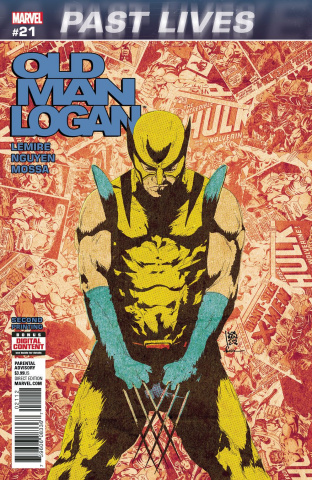 Old Man Logan #21 (2nd Printing Sorrentino)