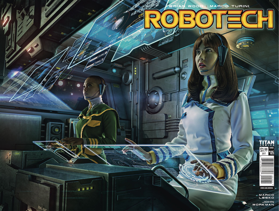 Robotech #5 (Cosplay Cover)