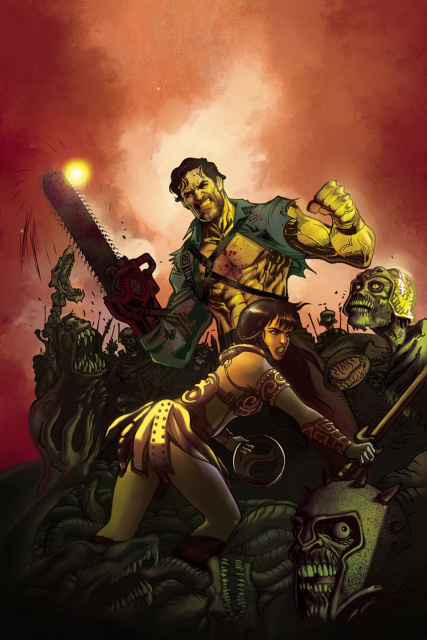 Army of Darkness / Xena: Forever... And a Day #6 (10 Copy Cover)
