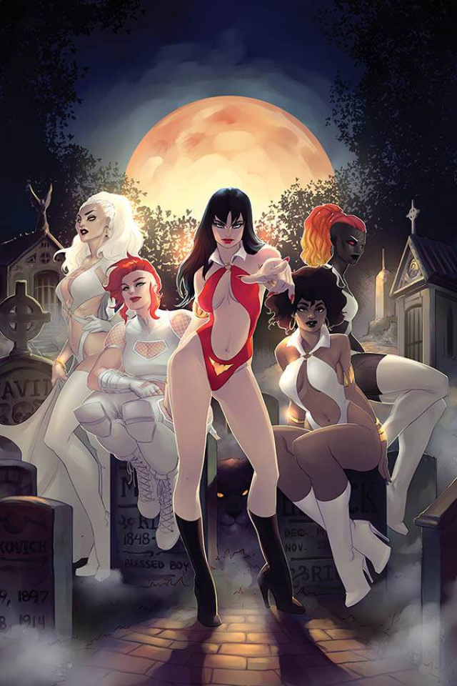 Sacred Six #3 (20 Copy Hetrick Virgin Cover)