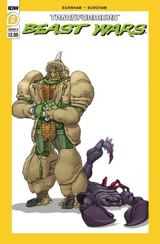 Transformers: Beast Wars #2 (Dan Schoening Cover)
