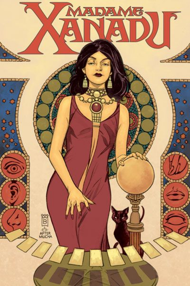 Madame Xanadu Vol. 4: Extra Sensory