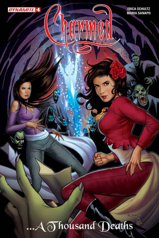 Charmed #4 (Sanapo Cover)