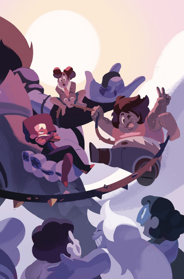 Steven Universe: Fusion Frenzy #1 (Connecting Cover)