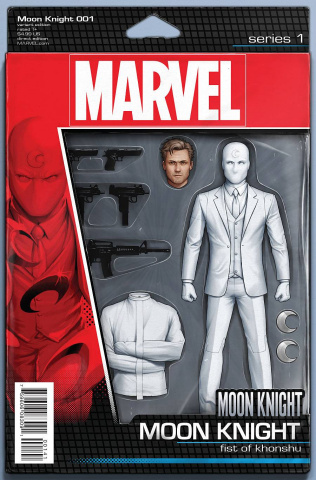Moon Knight #1 (Christopher Action Figure Cover)