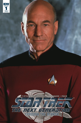 Star Trek: The Next Generation - Through the Mirror #1 (10 Copy Photo Cover)