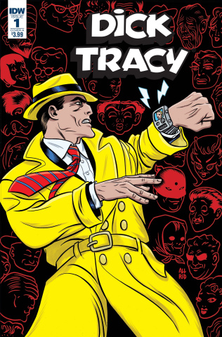 Dick Tracy: Dead or Alive #1 (Allred Cover)