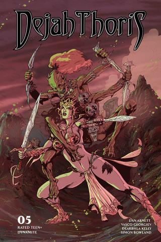 Dejah Thoris #5 (Castro Bonus Cover)