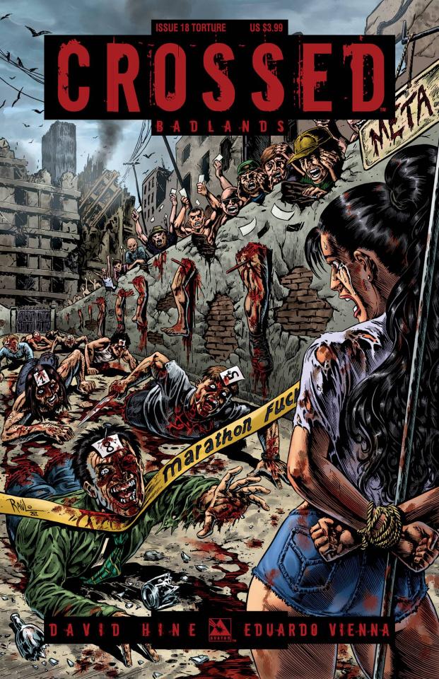Crossed: Badlands #18 (Torture Cover)