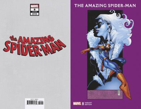 The Amazing Spider-Man #8 (J.G. Jones Black Cat Cover)