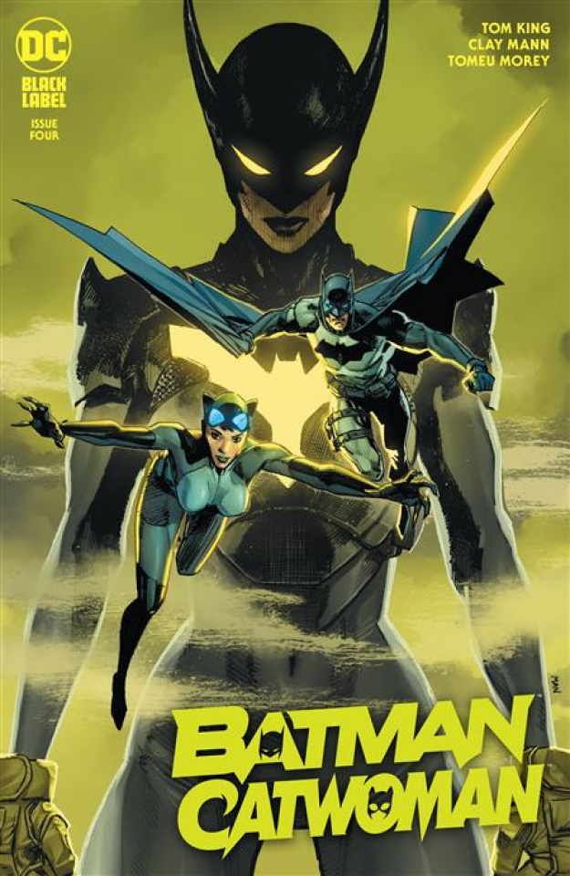 Batman / Catwoman #4 (Clay Mann Cover)