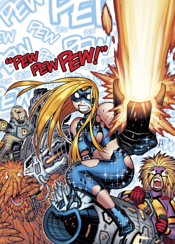 Empowered Special #7: Pew Pew Pew!