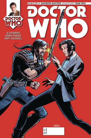 Doctor Who: New Adventures with the Eleventh Doctor, Year Two #12 (Sullivan Cover)