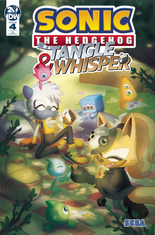 Sonic the Hedgehog: Tangle & Whisper #4 (10 Copy Cover)