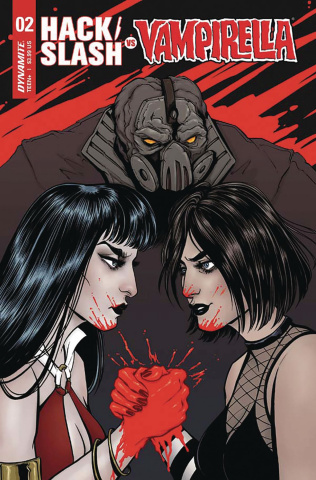 Hack/Slash vs. Vampirella #2 (Ihde Cover)