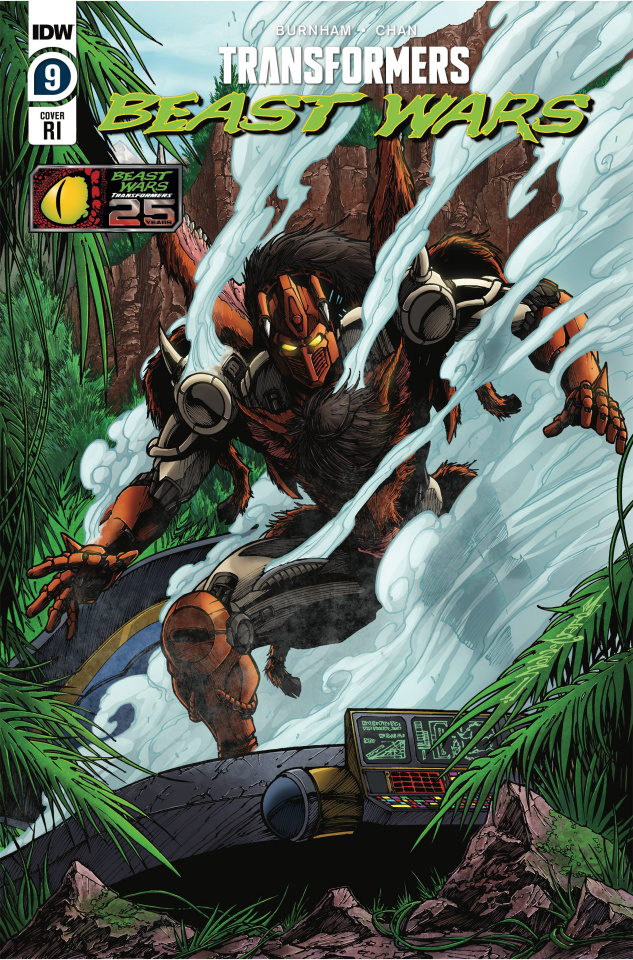 Transformers: Beast Wars #9 (10 Copy Milne Cover)