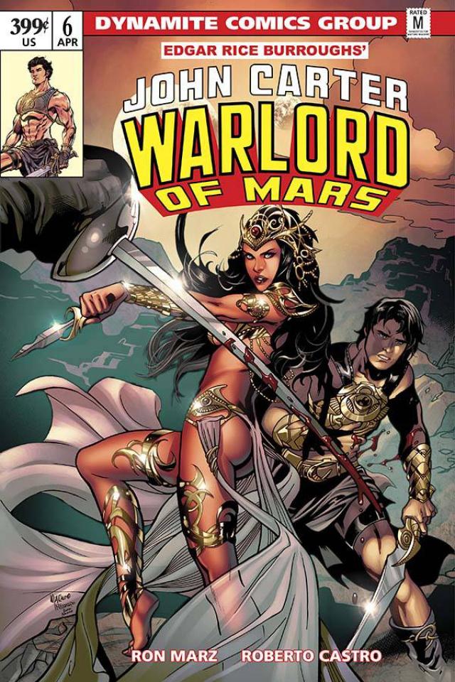 John Carter: Warlord of Mars #6 (Lupacchino Cover)