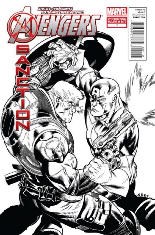 Avengers: X-Sanction #1 (2nd Printing)