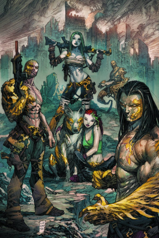 Cyber Force #6 (Silvestri Cover)