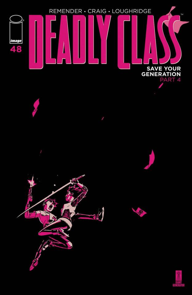 Deadly Class #48 (Craig & Loughridge Cover)