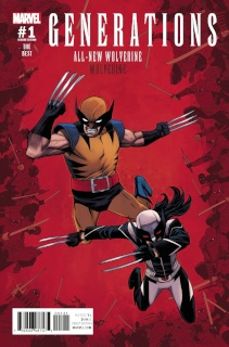 Generations: Wolverine & All-New Wolverine #1 (Shalvey Cover)