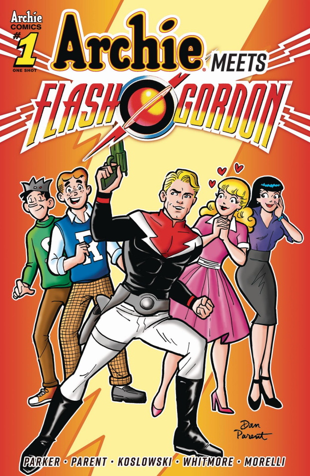 Archie Meets Flash Gordon (Parent Cover)