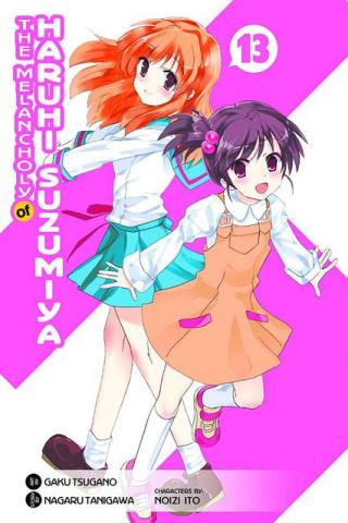 The Melancholy of Suzumiya Haruhi-Chan Vol. 13