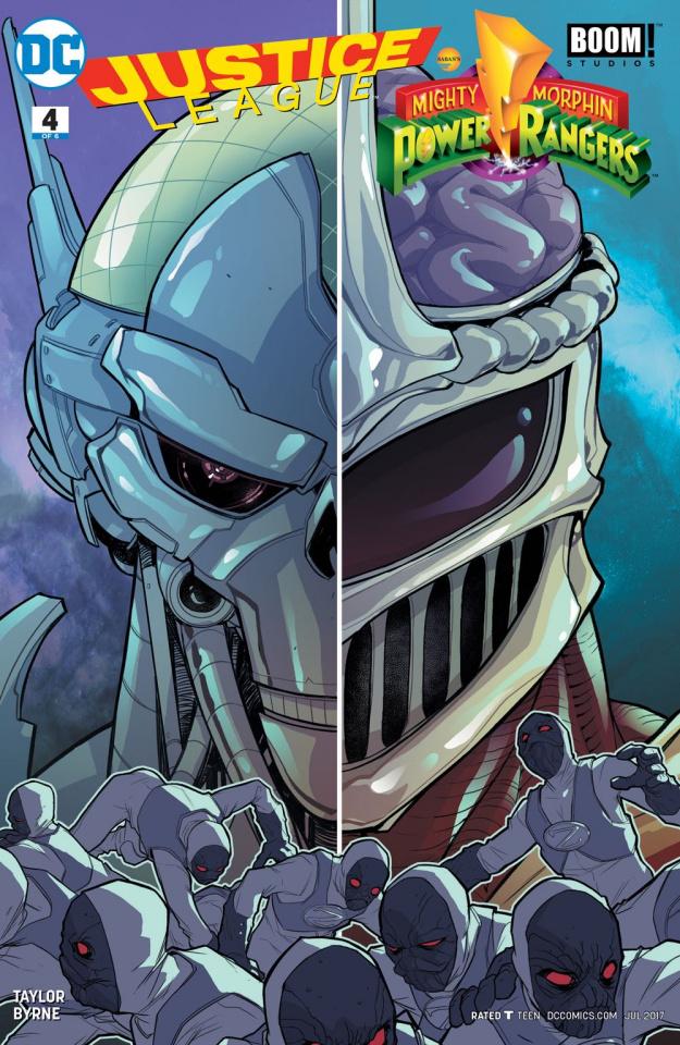 Justice League / Power Rangers #4