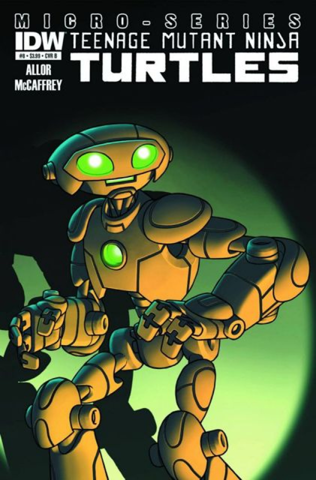 Teenage Mutant Ninja Turtles Micro-Series #8