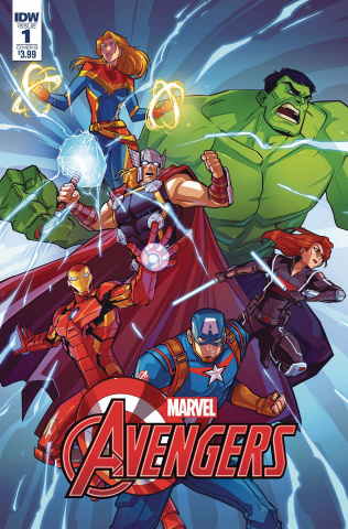 Marvel Action: Avengers #1 (10 Copy Pitre-Durocher Cover)