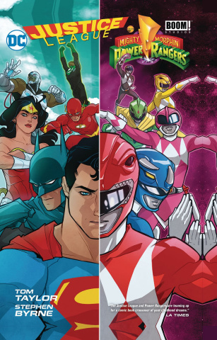 Justice League / Mihgty Morphin' Power Rangers