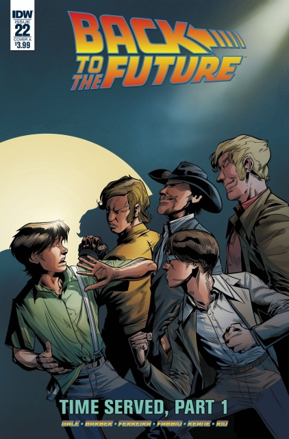 Back to the Future #22 (Ferreira Cover)