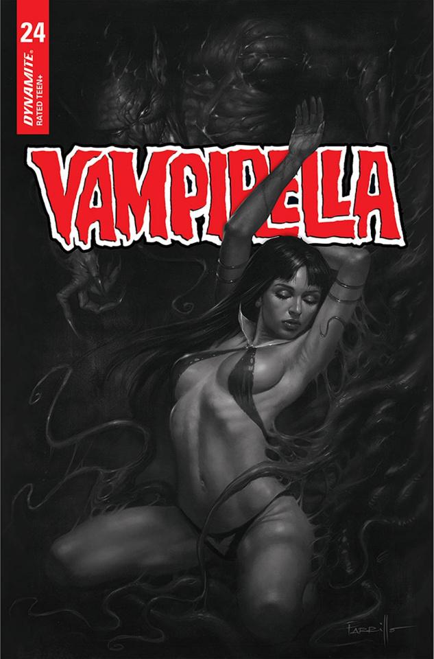 Vampirella #24 (10 Copy Parrillo B&W Cover)