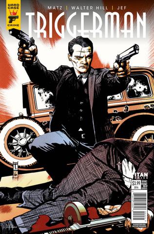 Hard Case Crime: Triggerman #5 (Coker Cover)