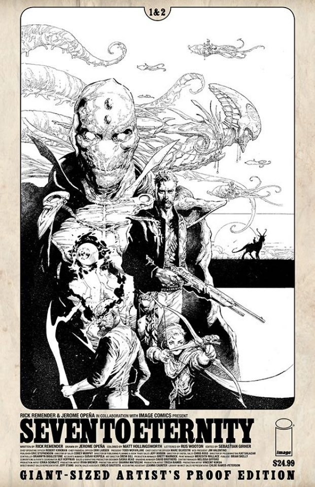 Seven to Eternity #1 (Image Giant Sized Artist Proof)