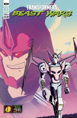 Transformers: Beast Wars #2 (Josh Burcham Cover)