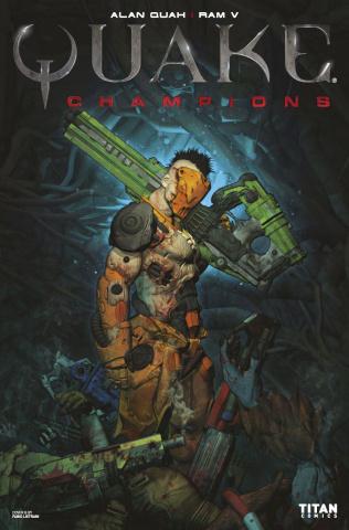 Quake: Champions #1 (Listrani Cover)