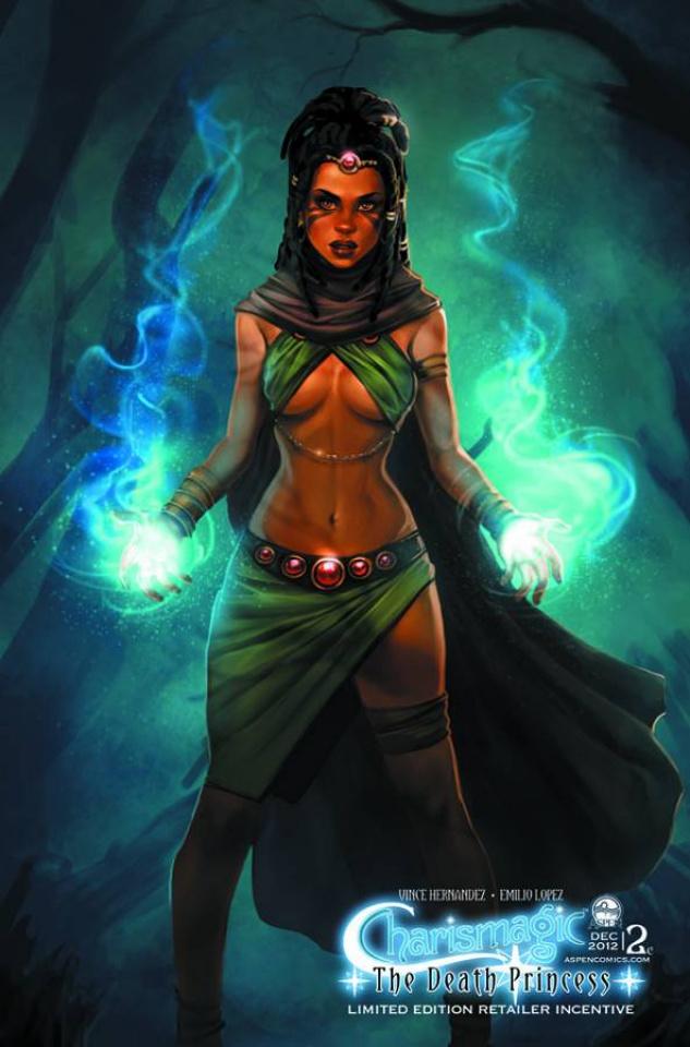 Charismagic: The Death Princess #2 (Oum Cover)