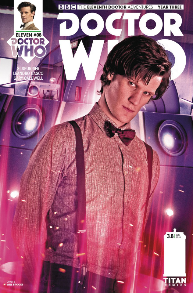Doctor Who: New Adventures with the Eleventh Doctor, Year Three #8 (Photo Cover)