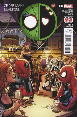 Spider-Man / Deadpool #4 (McGuinness 3rd Printing)