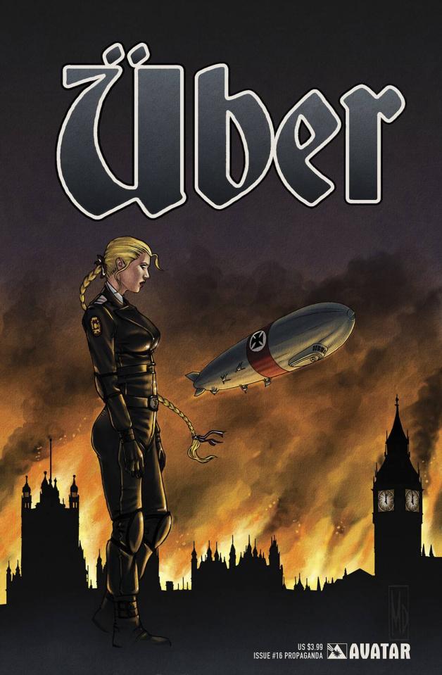 Über #16 (Propaganda Poster Cover)