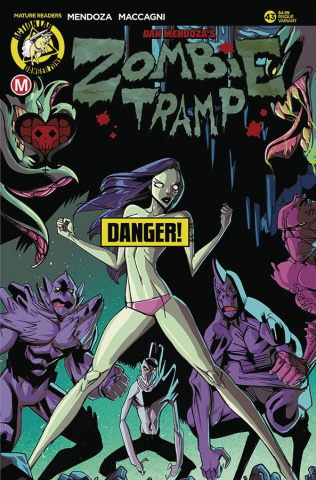 Zombie Tramp #43 (Celor Risque Cover)