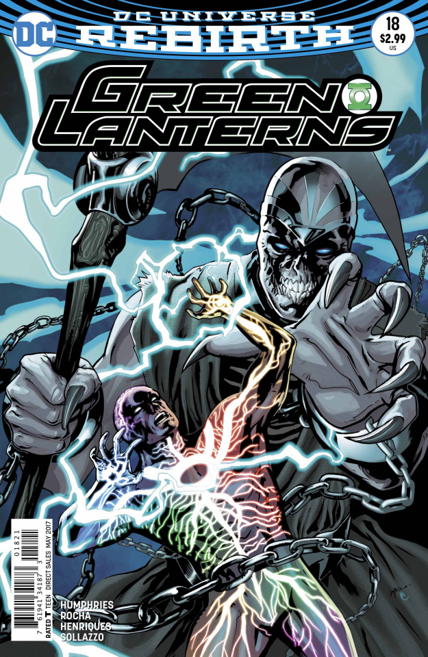 Green Lanterns #18 (Variant Cover)