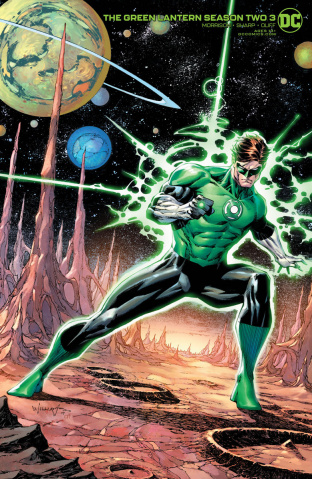Green Lantern, Season 2 #3 (Scott / Wiliams Cover)