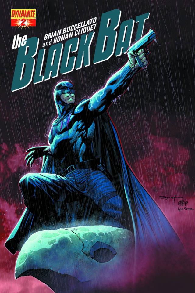 The Black Bat #2 (Syaf Cover)