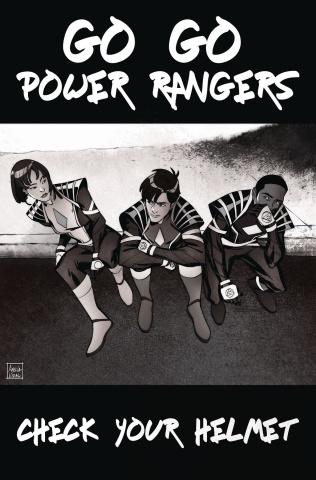 Go, Go, Power Rangers! #30 (Mercado Cover)