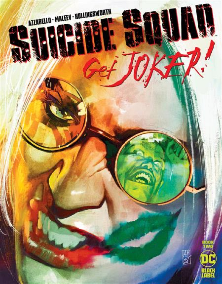 Suicide Squad: Get Joker! #2 (Alex Maleev Cover)