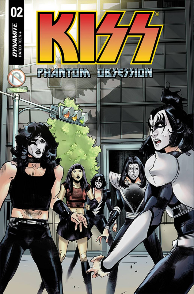 KISS: Phantom Obsession #2 (Celor Cover)